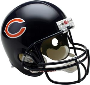 NFL Chicago Bears Deluxe Replica Full Size Helmet