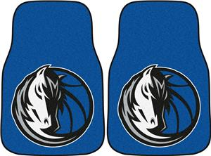 Fan Mats Dallas Mavericks Carpet Car Mats