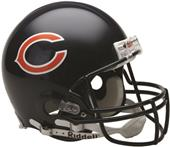 NFL Chicago Bears On-Field Full Size Helmet (VSR4)