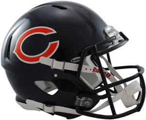 NFL Bears On-Field Full Size Helmet (Speed)