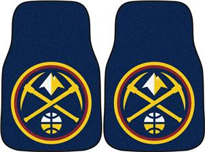 Fan Mats Denver Nuggets Carpet Car Mats