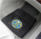 Fan Mats Denver Nuggets Vinyl Car Mats (set)