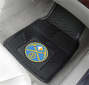 Fan Mats Denver Nuggets Vinyl Car Mats