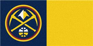 Fan Mats NBA Denver Nuggets Carpet Tiles