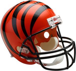 NFL Bengals Deluxe Replica Full Size Helmet
