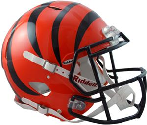NFL Bengals On-Field Full Size Helmet (Speed)