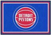 Fan Mats Detroit Pistons 5' x 8' Rugs