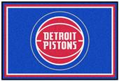Fan Mats NBA Detroit Pistons 5'x8' Rugs
