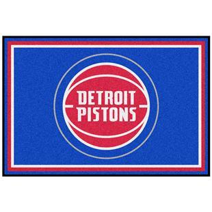 Fan Mats NBA Detroit Pistons 5'x8' Rugs