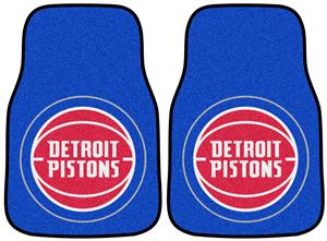 Fan Mats NBA Detroit Pistons Carpet Car Mats (set)