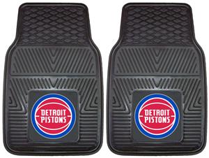 Fan Mats Detroit Pistons Vinyl Car Mats