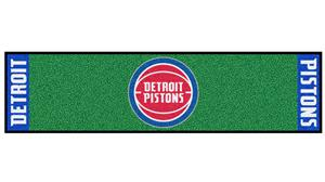 Fan Mats NBA Detroit Pistons Putting Green Mat
