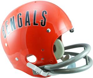 NFL Bengals (68-79) Replica TK Suspension Helmet
