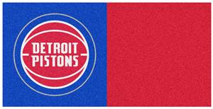 Fan Mats NBA Detroit Pistons Carpet Tiles