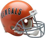 NFL Bengals On-Field Auth. Full Size Helmet (TB)