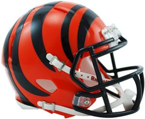 NFL Cincinnati Bengals Speed Mini Helmet