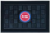 Fan Mats NBA Detroit Pistons Medallion Door Mat