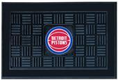 Fan Mats NBA Detroit Pistons Medallion Door Mat