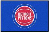 Fan Mats Detroit Pistons Starter Mats