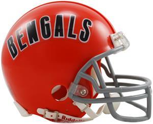 NFL Bengals Mini Replica Helmet (Throwback)