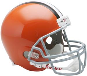 NFL Browns Deluxe Replica Full Size Helmet
