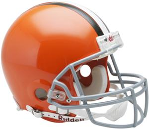 NFL Browns On-Field Full Size Helmet (VSR4)