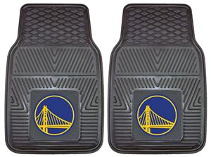 Fan Mats Golden State Warriors Vinyl Car Mats