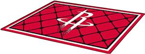 Fan Mats Houston Rockets 5' x 8' Rugs