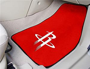 Fan Mats Houston Rockets Carpet Car Mats