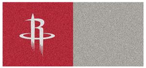 Fan Mats NBA Houston Rockets Carpet Tiles