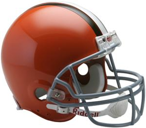 NFL Browns On-Field Auth. Full Size Helmet (TB)