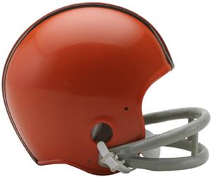 NFL Browns (62-74) Mini Replica Helmet (Throwback)