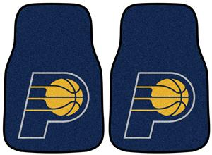 Fan Mats Indiana Pacers Carpet Car Mats (set)