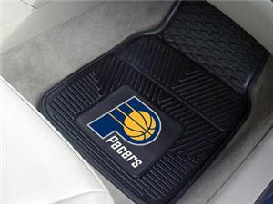 Fan Mats Indiana Pacers Vinyl Car Mats