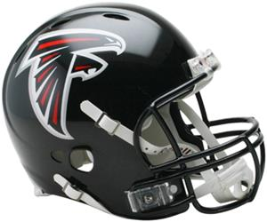NFL Falcons On-Field Full Size Helmet (Revolution)