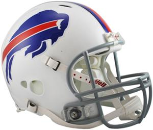 NFL Bills On-Field Full Size Helmet (Revolution)