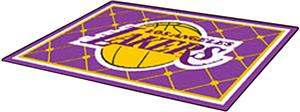 Fan Mats Los Angeles Lakers 5' x 8' Rugs