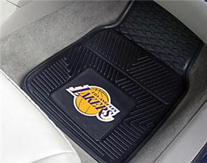 Fan Mats Los Angeles Lakers Vinyl Car Mats