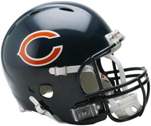 NFL Bears On-Field Full Size Helmet (Revolution)
