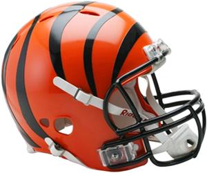 NFL Bengals On-Field Full Size Helmet (Revolution)