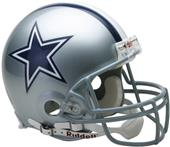 NFL Cowboys On-Field Full Size Helmet (VSR4)