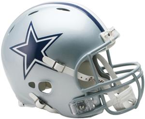 NFL Cowboys On-Field Full Size Helmet -Revolution