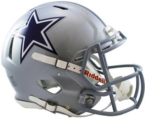 NFL Cowboys On-Field Full Size Helmet (Speed)