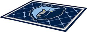 Fan Mats Memphis Grizzlies 5' x 8' Rugs