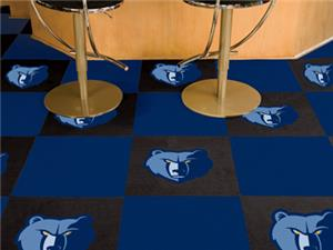 Fan Mats NBA Memphis Grizzlies Carpet Tiles