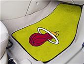 Fan Mats Miami Heat Carpet Car Mats (set)
