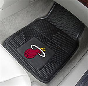 Fan Mats Miami Heat Vinyl Car Mats