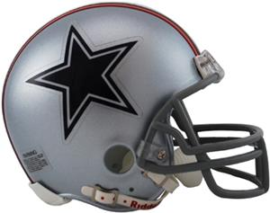 NFL Cowboys (76) Mini Replica Helmet (Throwback)