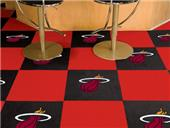 Fan Mats NBA Miami Heat Carpet Tiles