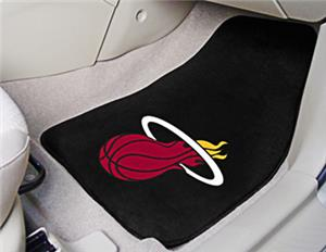 Fan Mats Miami Heat Carpet Car Mats